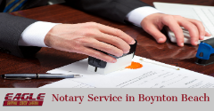 Best Notary Service in Boynton Beach