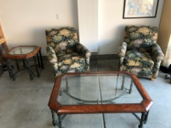 For Sale: Living room Chairs, Coffee Table and End Table - $300