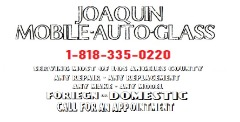 JOAQUIN MOBILE AUTO GLASS REPAIR & REPLACEMENT