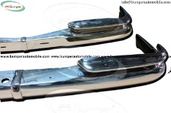 Mercedes W111 coupe bumper ( 1959-1968) stainless steel