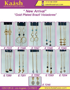 Gold Plated Brazil Violadores