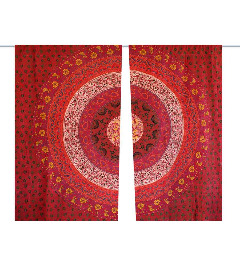 Re-Decorate Your House with Beautiful and Designer Mandala Curtains