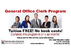 FREE GENERAL OFFICE CLERK PROGRAM