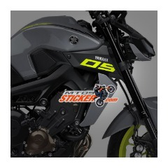 NEW Yamaha MT-09 scoop air side cover stickers (35)