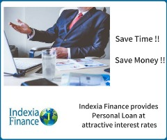 Get Personal Loan with Fast Process at Indexia Finance