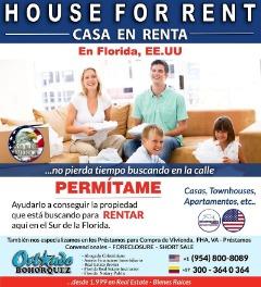 HOUSE FOR RENT en FLORIDA, USA