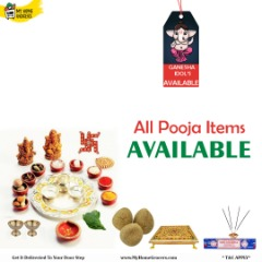 Buy All Ganesh Pooja Items Available Online Addison,Texas - MyHomeGrocers