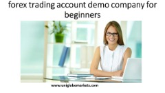 forex trading account demo company for beginners