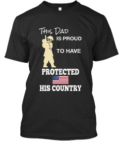 Patriotic Shirts for U.S. Veterans