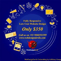 Best Price For Your Website Design Only USD350