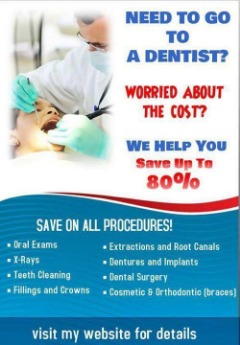 Save up to 80% on Dental