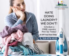 Give your Premium Clothes a Premium care with Industrial Laundry Services