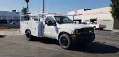 2006 FORD F350 DUALLY UTILITY TRUCK