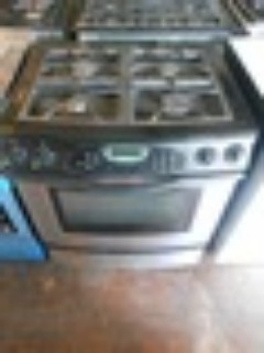 JENN-AIR 30 INCH SLIDE IN DUAL FUEL RANGE GAS TOP ELECTRIC OVEN