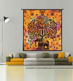 Decorate Your House Wall with Indian Mandala Tapestry