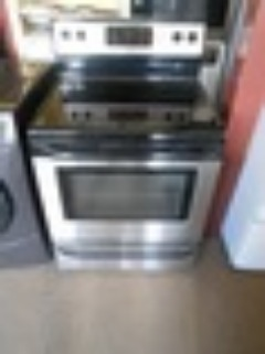 FRIGIDAIRE 30 INCH FREE STANDING GLASS TOP 4 BURNER ELECTRIC RANGE