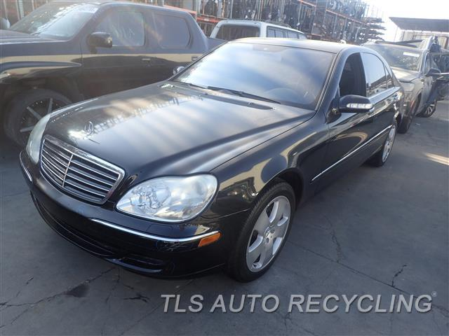Used Parts For Mercedes Benz S430   2005   901.MB1Q05   Stock#
