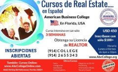 CURSOS DE REAL ESTATE en ESPAÑOL, FLORIDA-EE.UU