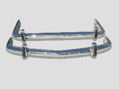 BMW 1500-2000 NK Bumper 1962-1972 in Stainless Steel
