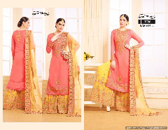 Georgette heavy worked salwar kameez collection wholesale
