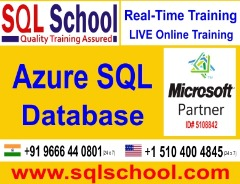 AZURE SQL Online Training with Project @ SQL School