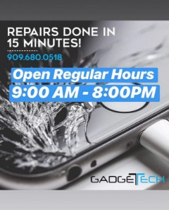iPhone, Samsung, Tablet, Computer Repairs and more.