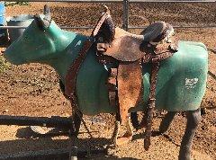 2 Barrel Saddles