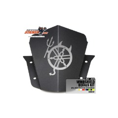 Yamaha DEVIL Windshield cowl sticker (07)