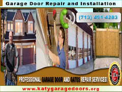 Garage Door Repair Katy offers 24 hours service everyday in $25.95 Katy 77450 TX