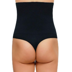Summer Sale! Save up to 70%  High Waisted Shapewear Thong at Amazon