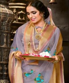 Wholesale Designer Pure Organza saree collection