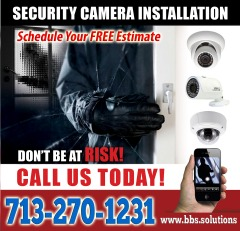 Sale of HD security cameras (Installations and maintenance)