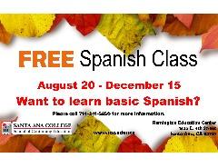 FREE Spanish Class!
