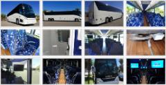 We Offer Bus Rental in California