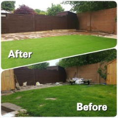 Artificial Grass Installation Services - Get up to $1,000 Water Cash Rebate