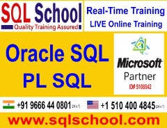 Oracle PL SQL  Best Project Oriented Online Training