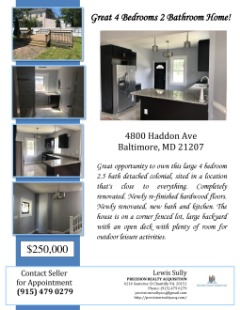 Renovated Off Market Investment Property!