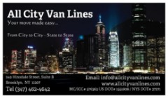 ALL CITY VAN LINES INC.  (Door-to-Door Moving Services)