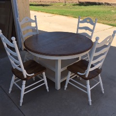 5 PIECE DINETTE SET FOR THE LOW PRICE OF $200.00