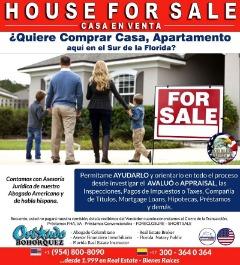 HOUSE FOR SALE, FLORIDA-USA
