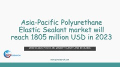 Asia-Pacific Polyurethane Elastic Sealant market will reach 1805 million USD in 2023