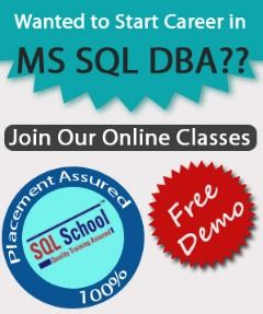 LIVE Online Training ON SQL DBA 2017 WITH PROJECT
