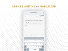 5 Simple ways of Article Writing on Mobile App - Heuro App