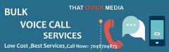 Low Cost | Bulk Voice Call Services