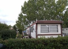 We buy mobile homes in parks and on private land