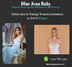 Sale in Vintage Women's Intimates at Blue Jean Baby