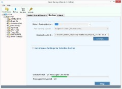 Email Backup Wizard Solution to Backup Emails from Webmail to Local PC