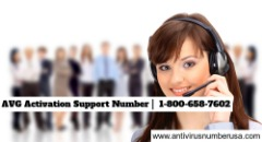 AVG Activation Support Number | 1-800-658-7602