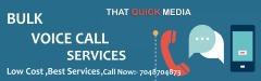 Affordable Bulk Voice Calls