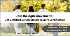 Certified Scrum Master® (CSM) - Cleveland, Ohio